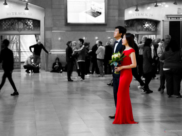 Servizio Fotografico Sposi alla Grand Central Station di New York